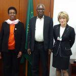 Julius Kagamba, Rhoda Peace Tumusiime, Josue Dione, Sandy Thomas
