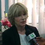 Prof Sandy Thomas, Director, Global Panel on Agriculture and Food System for Nutrition, addressing the press